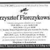 Krzysztof Florczykowski nie żyje!