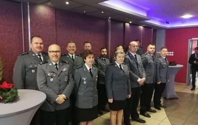 Spotkanie opłatkowe przedstawicieli związków zawodowych służb mundurowych