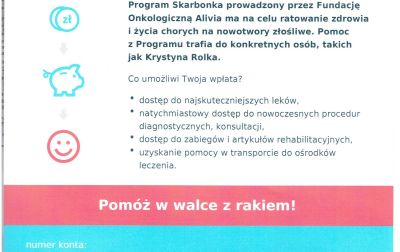 Program Skarbonka – Krystyna Rolka